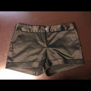 Express Design Studio Black Shorts